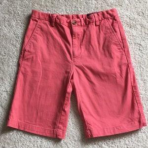 Boys Vineyard vines shorts (size 16) salmon color